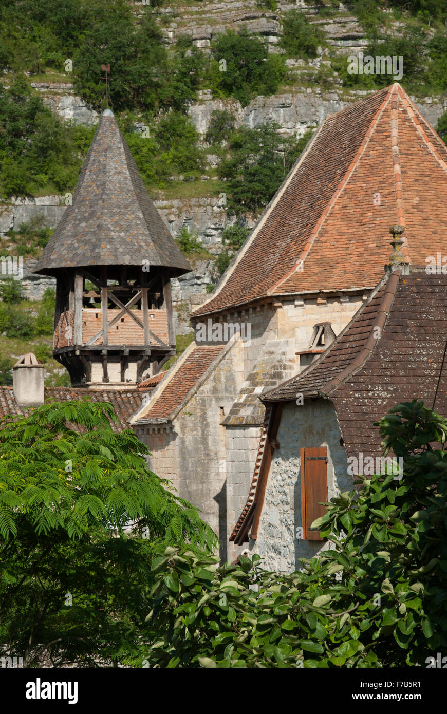 Sainte Eulalie, Célé Valley, France - Stock Image