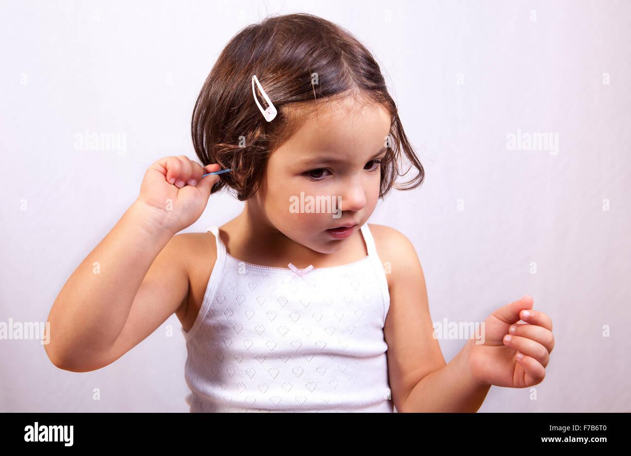 young latin girl