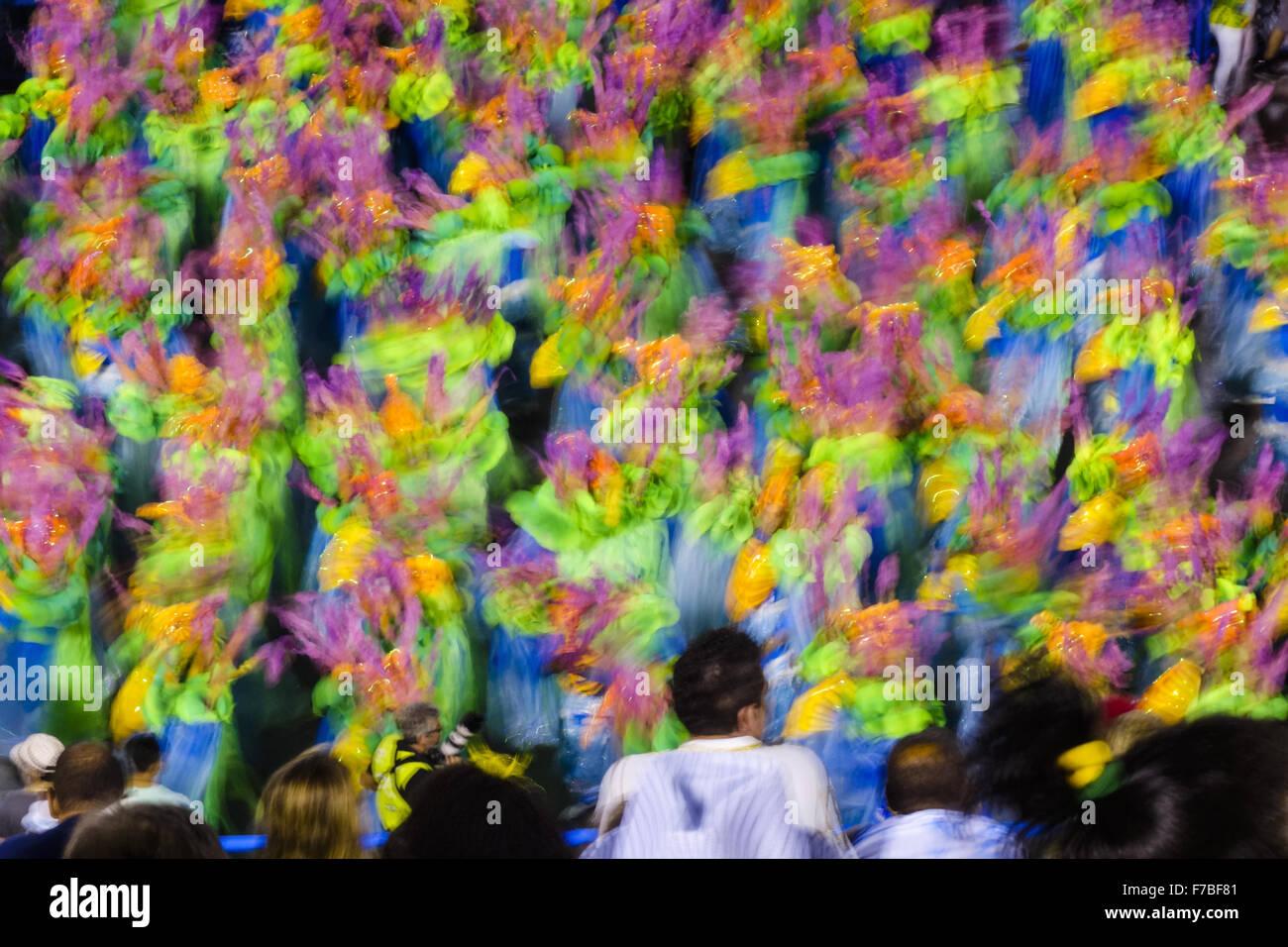 Rio de Janeiro, carnival, Sambadromo, Brazil - Stock Image