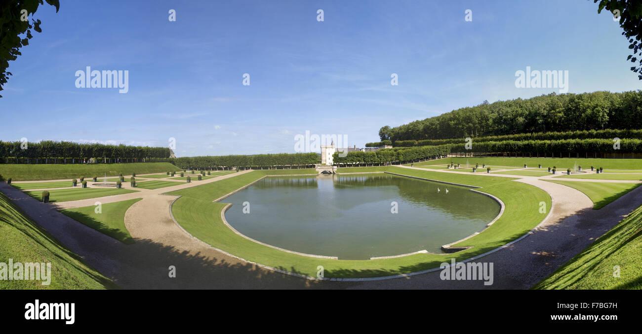 Villandry, Indre-et-Loire, France, Loire Valley - Stock Image