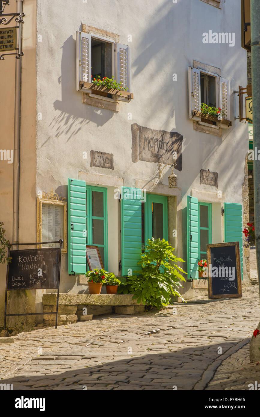 Croatia, Istria, Motovun, traditional Konoba - Stock Image