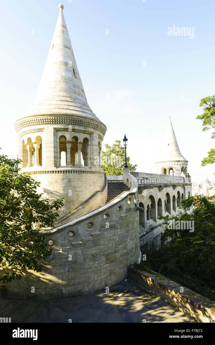 Budapest, Fisherman Bastion, Hungary - Stock Image