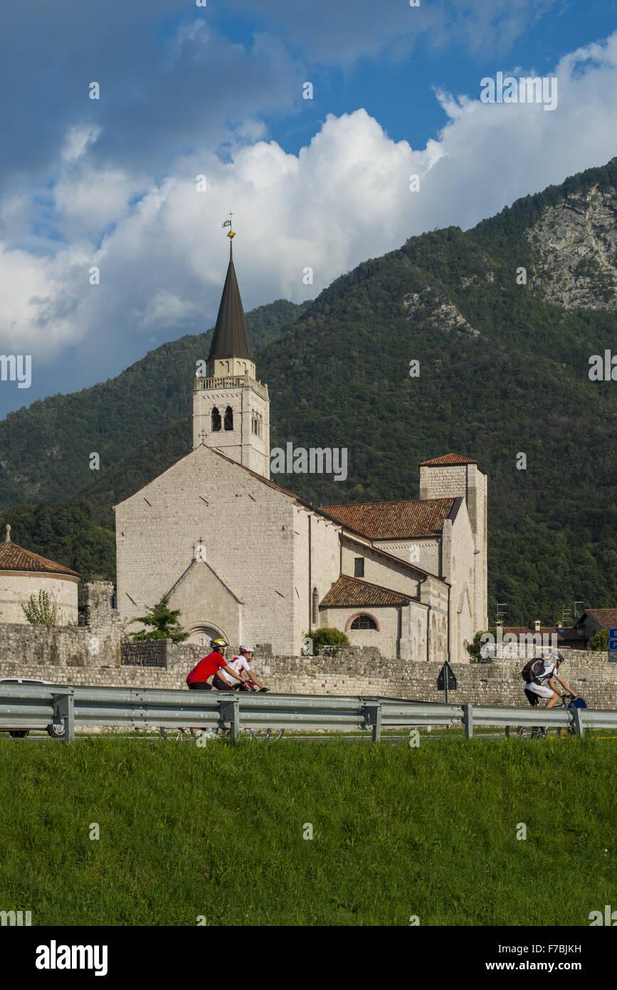 Church, Italy, Friaul-Julian Venetia - Stock Image