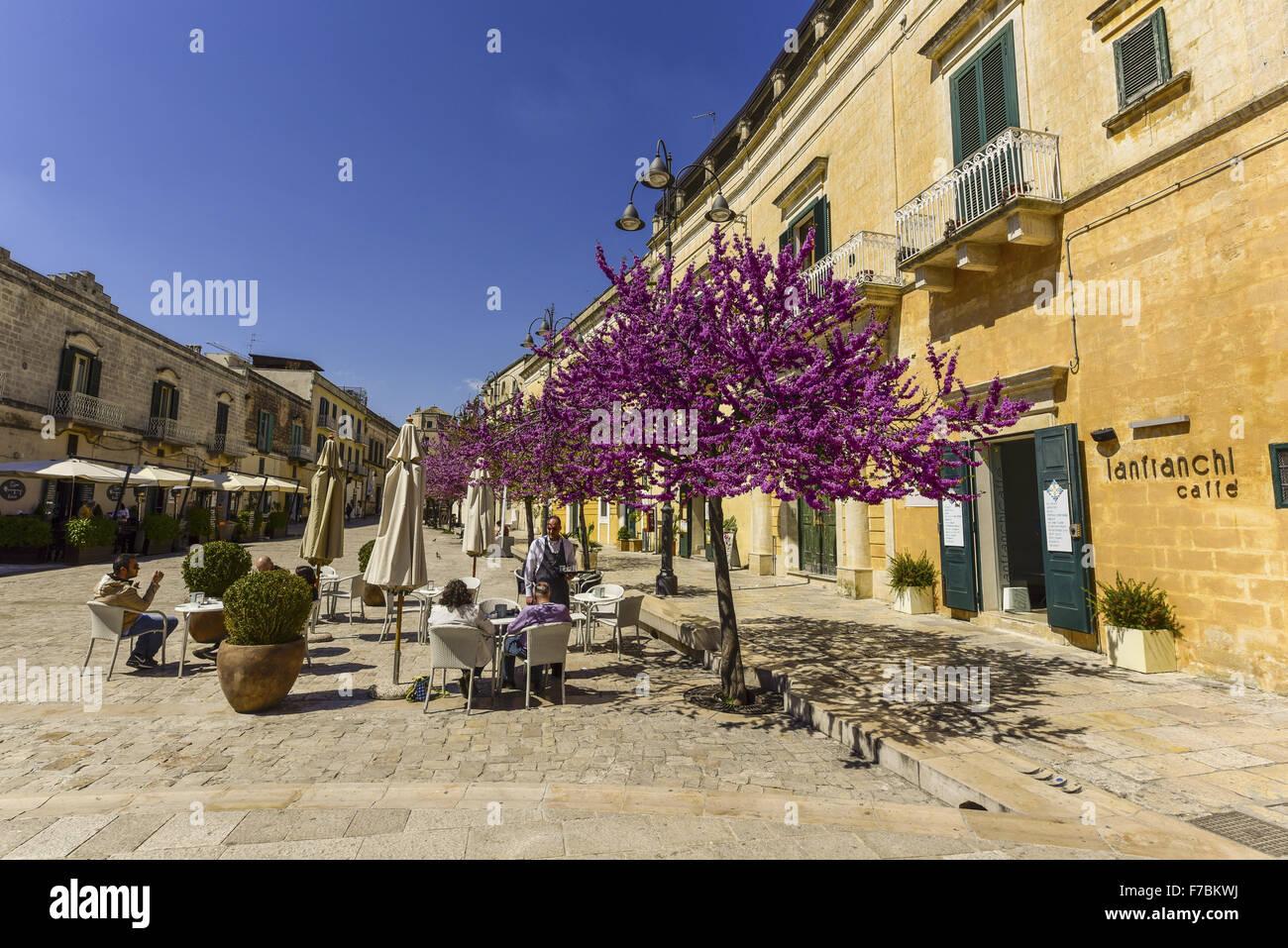 European Cultural Capital 2019, Matera, Basilicata, Italy - Stock Image