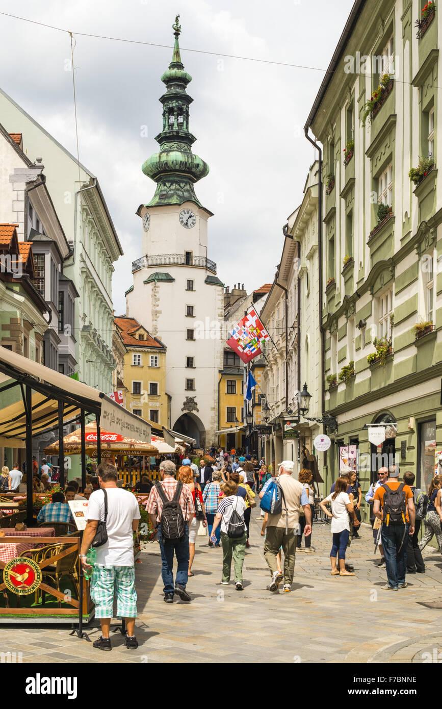Bratislava, Slovak Republic, Pressburg - Stock Image