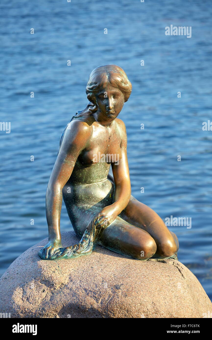 Mermaid, Copenhagen Stock Photo