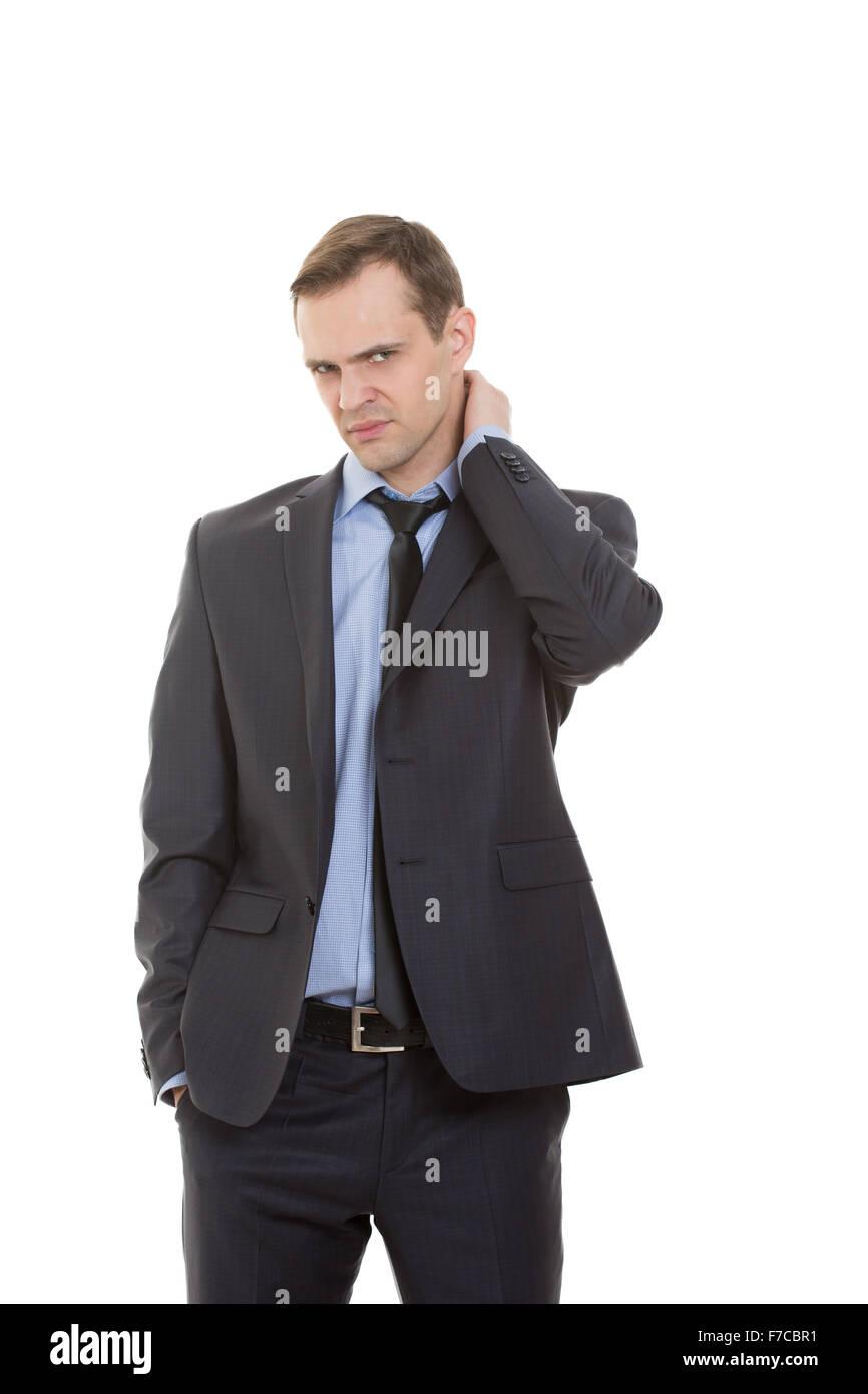 body language men hands in pocket