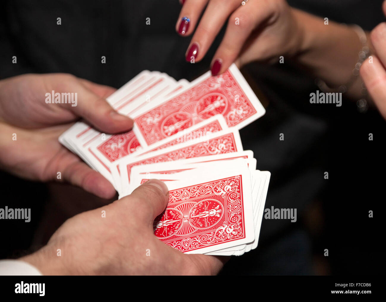 Card shuffling tricks asian dating