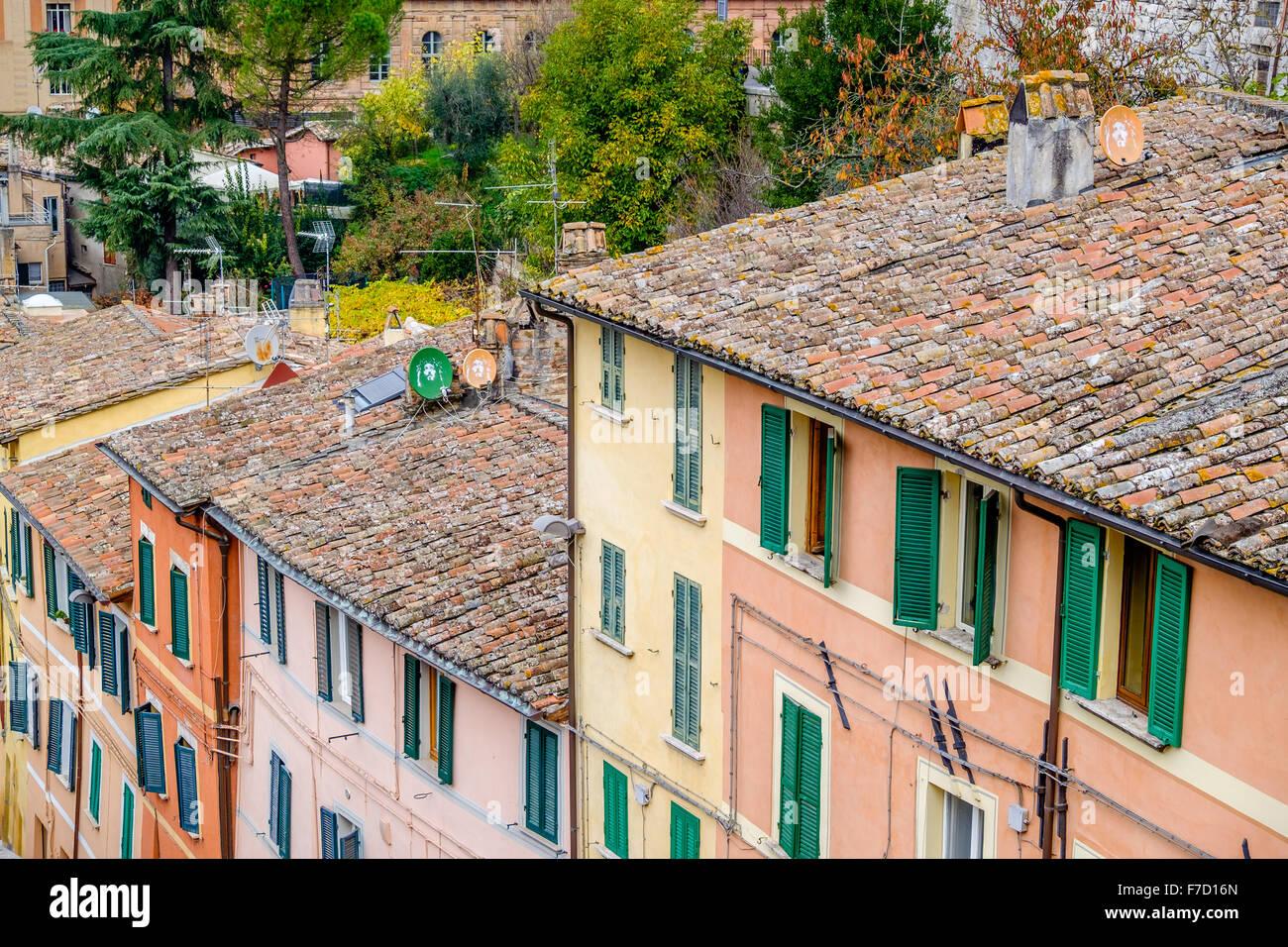 Terracotta Roof Tiles Italy Stock Photos Amp Terracotta Roof