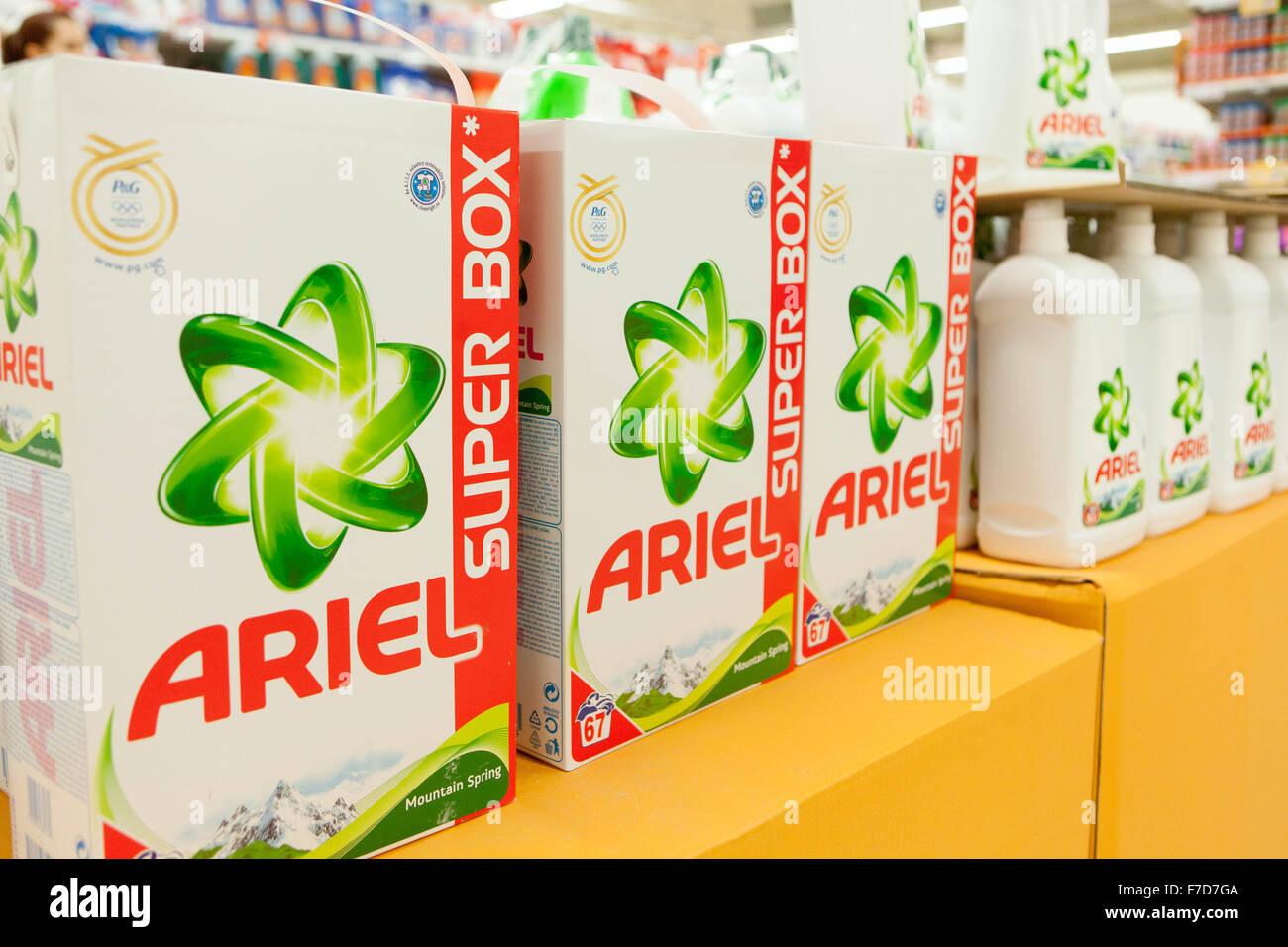 Washing Powder Ariel Czech Republic Supermarket Sales