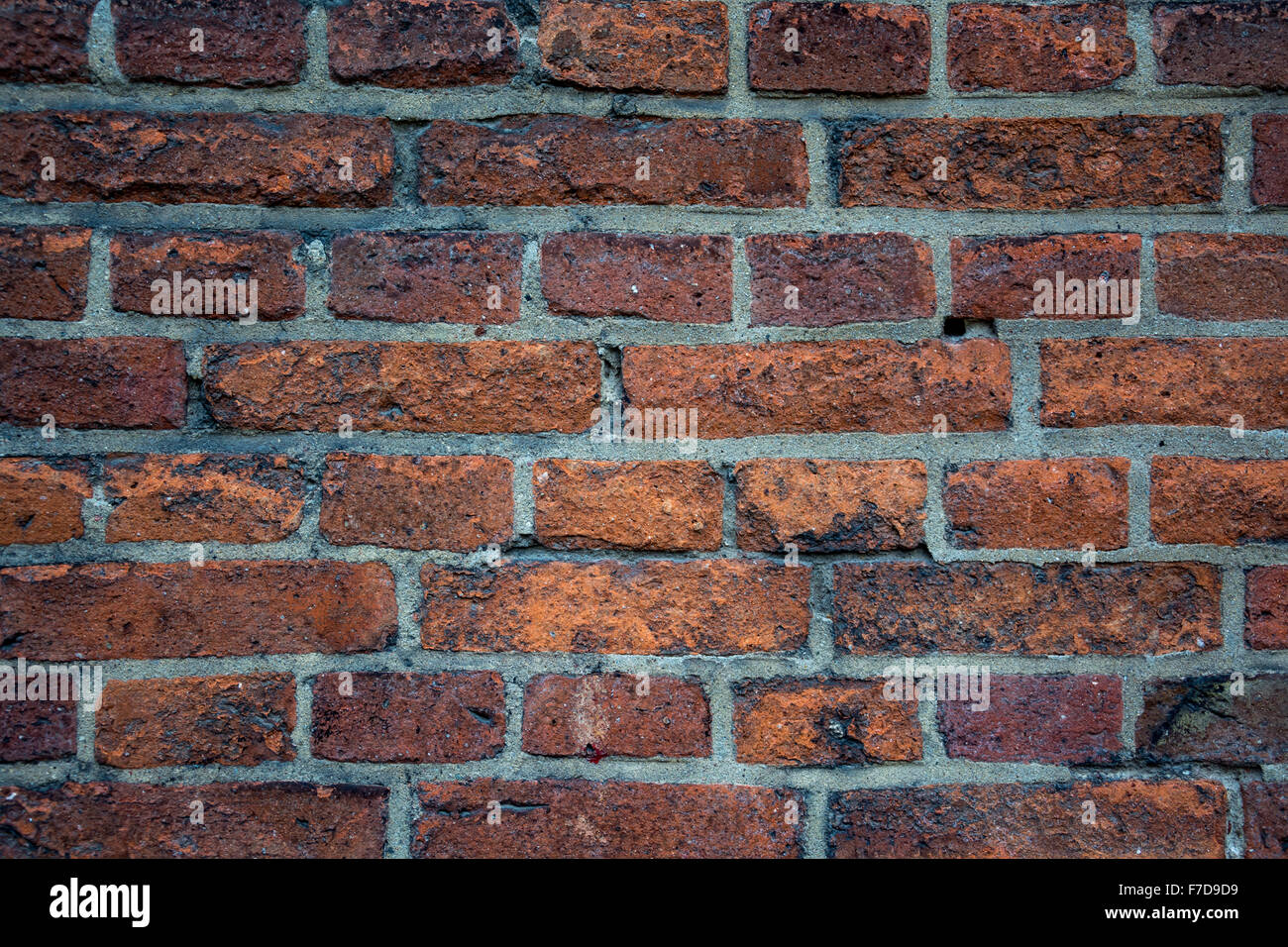 Old loft urban brick wall - Stock Image