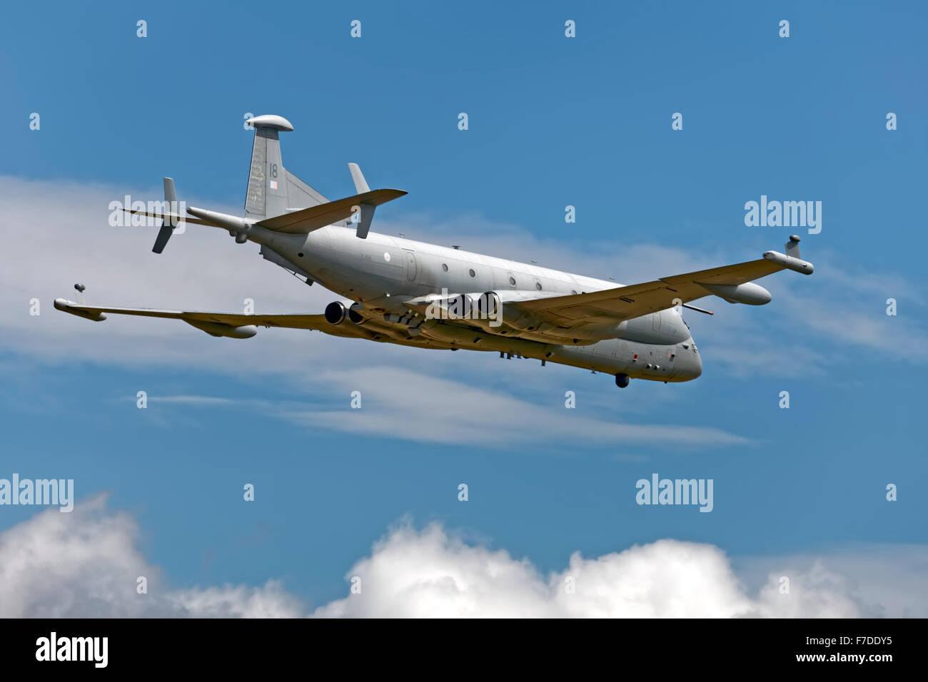 BAe Systems Nimrod MRA4, ZJ518. - Stock Image