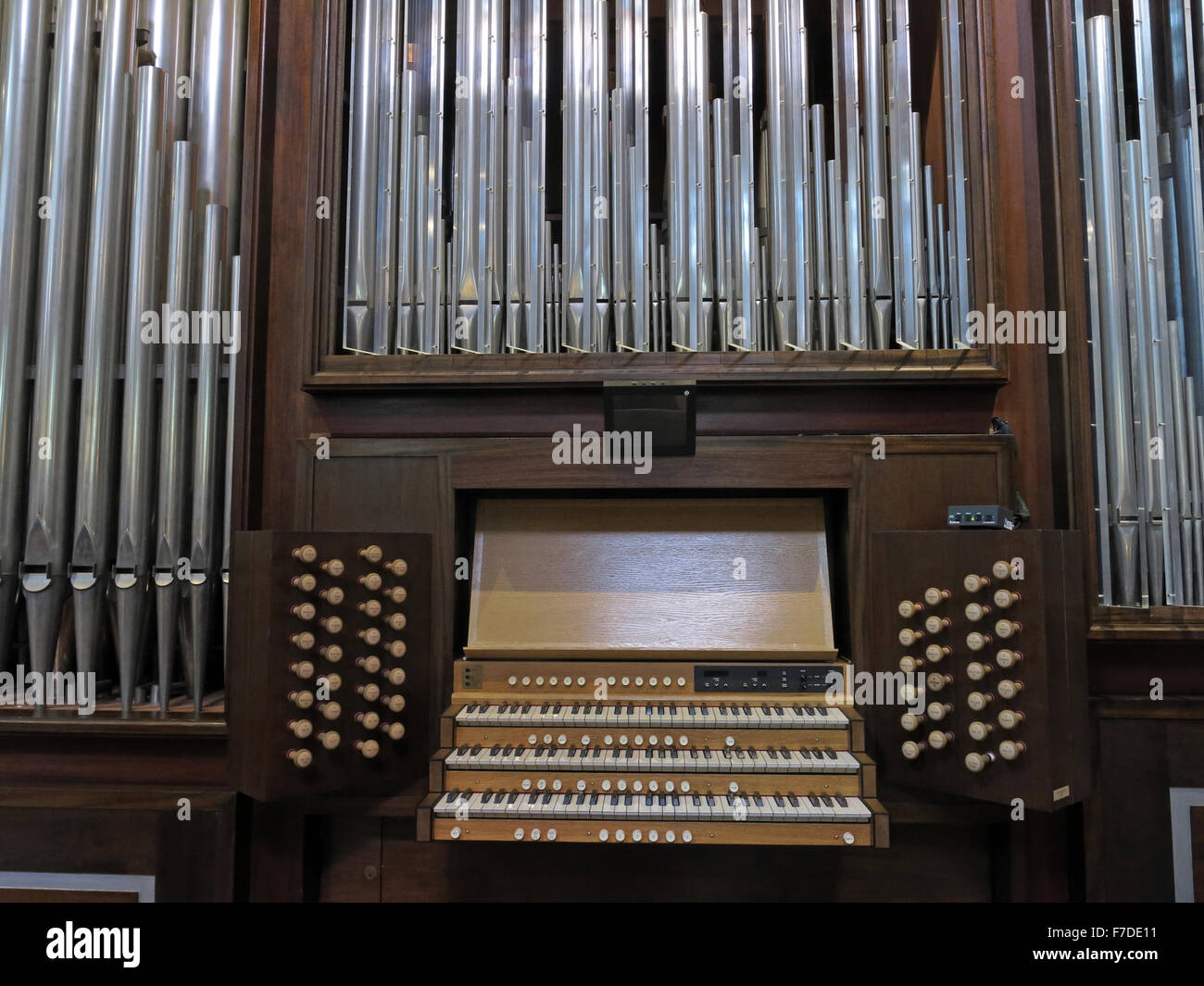 Organ at All Saints, Kingston Upon Thames,London,England,UK - Stock Image