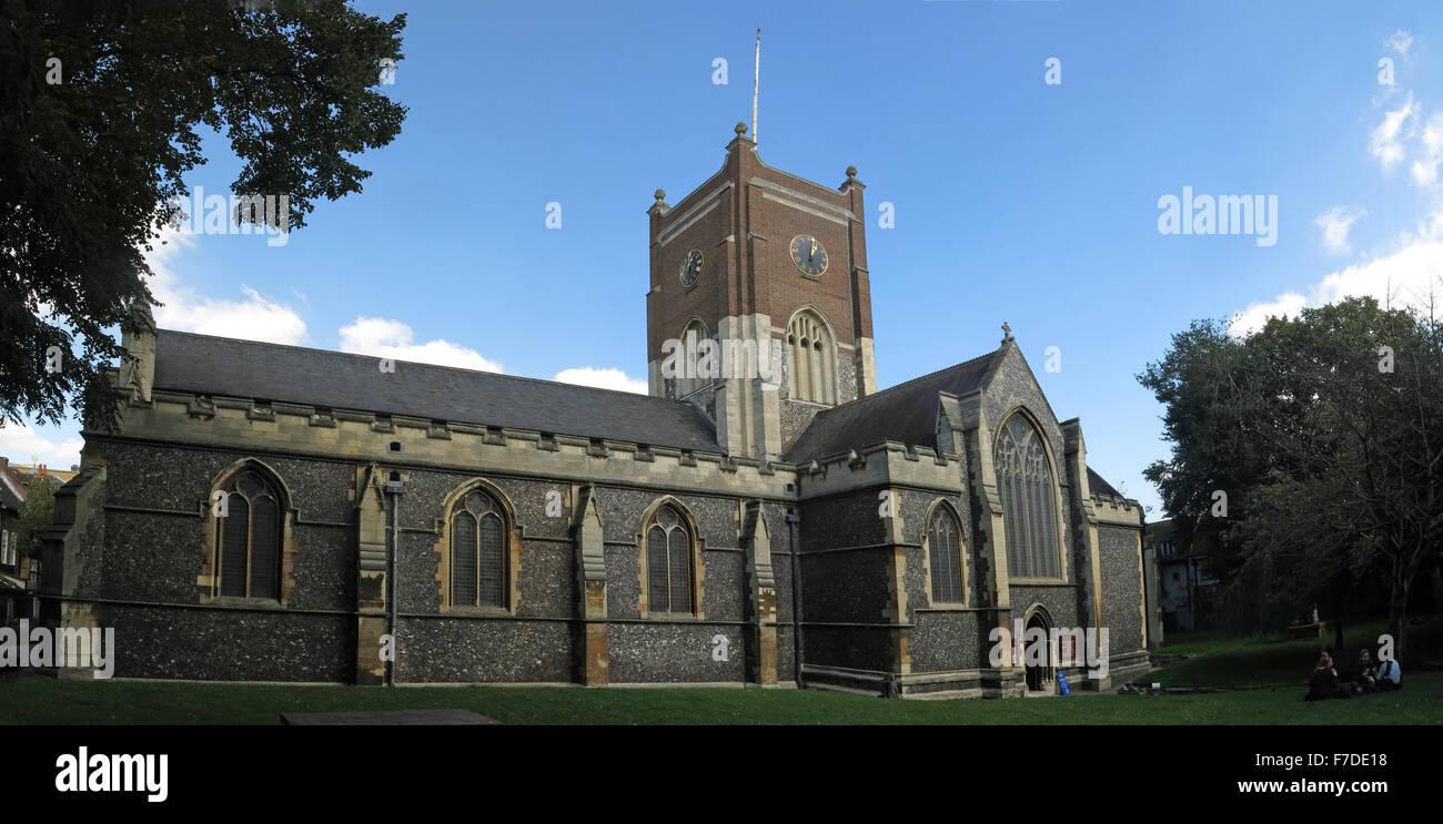 All Saints Church exterior, Kingston Upon Thames,London,England,UK - Stock Image