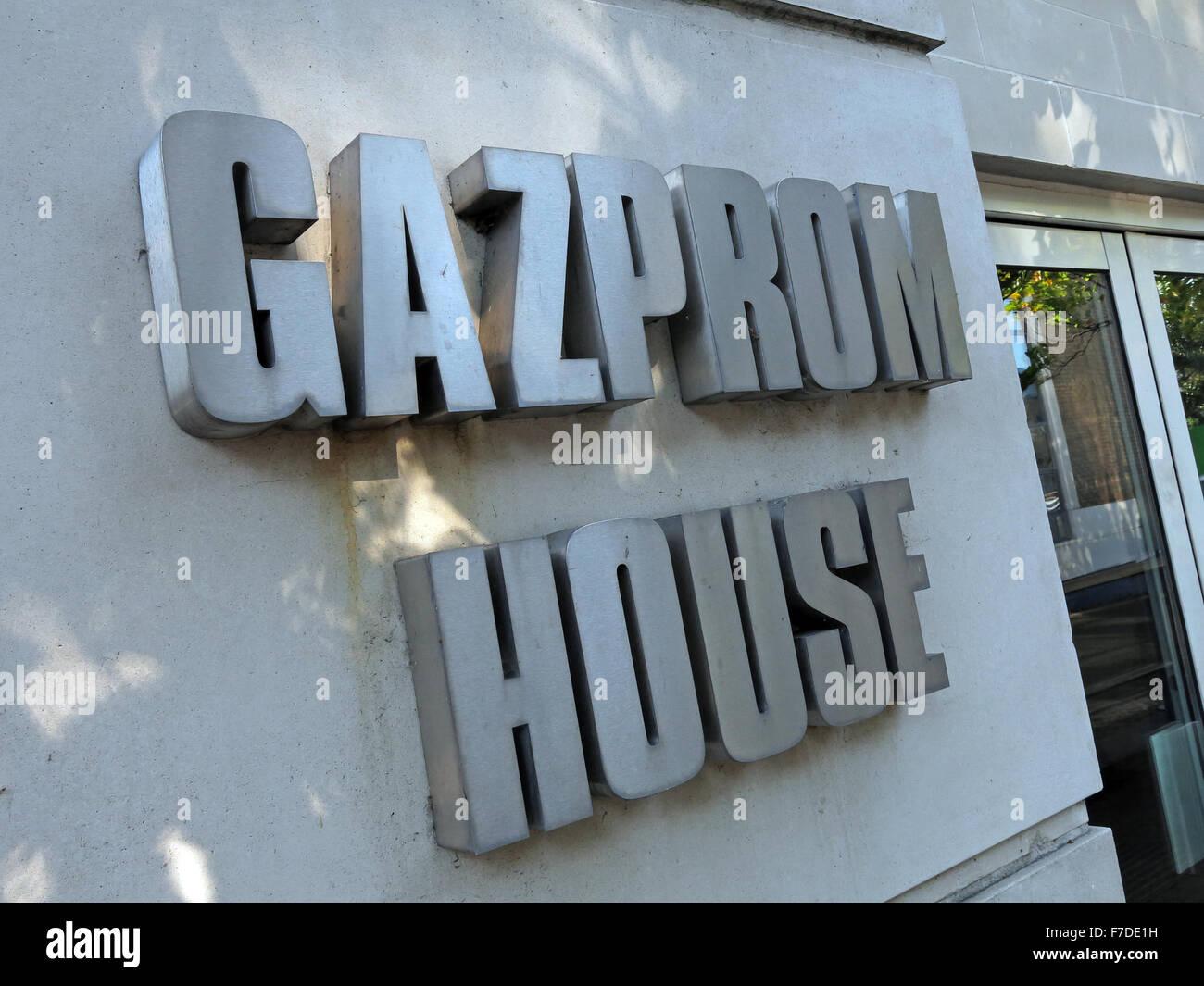 Gazprom House,Hampton Wick,Kingston,London, - Stock Image