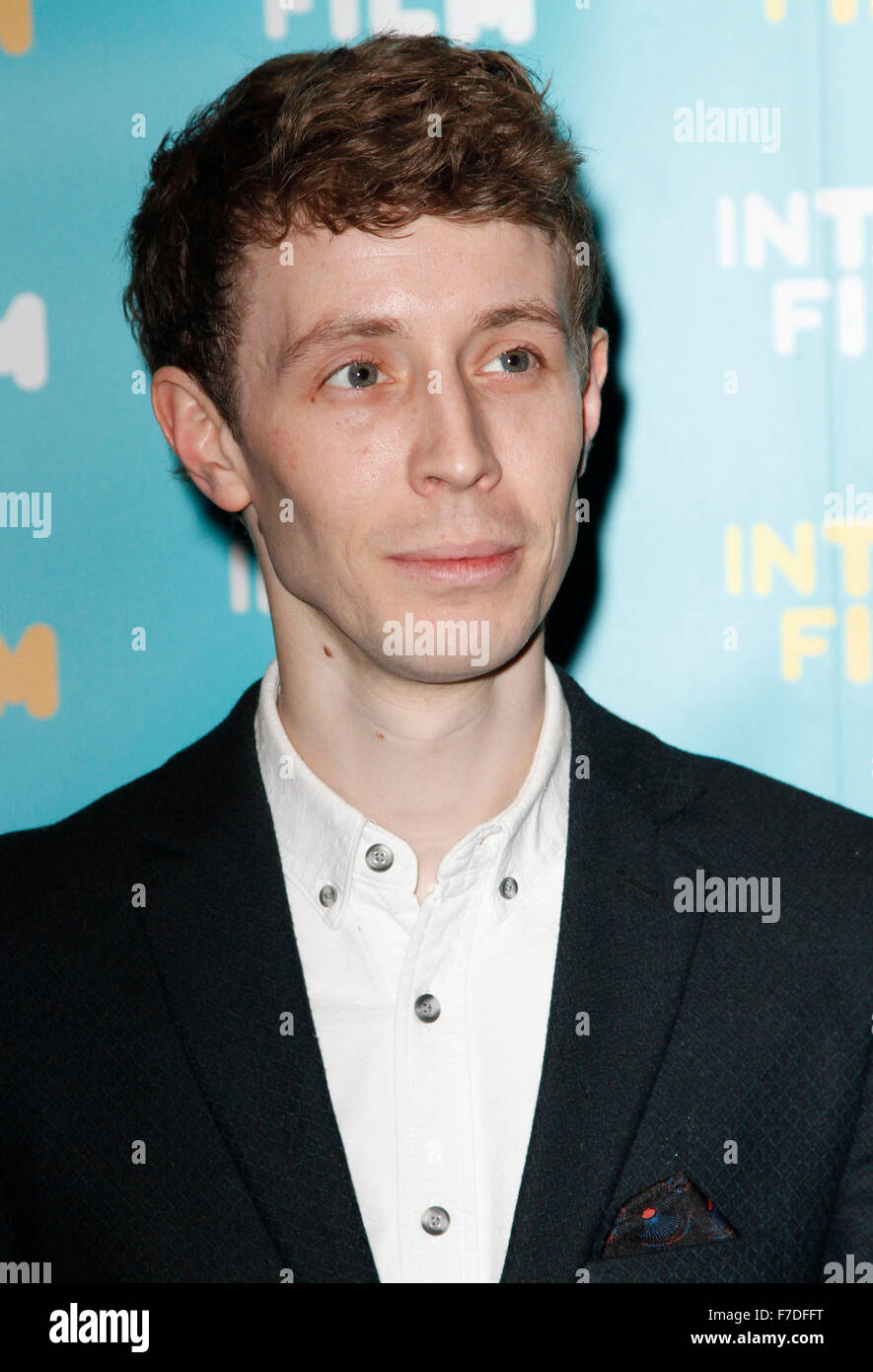 Mar 24, 2015 - London, England, UK - Matt Edmondson attending  Into Film Awards 2015, Empire Cinema, Leicester Square - Stock Image
