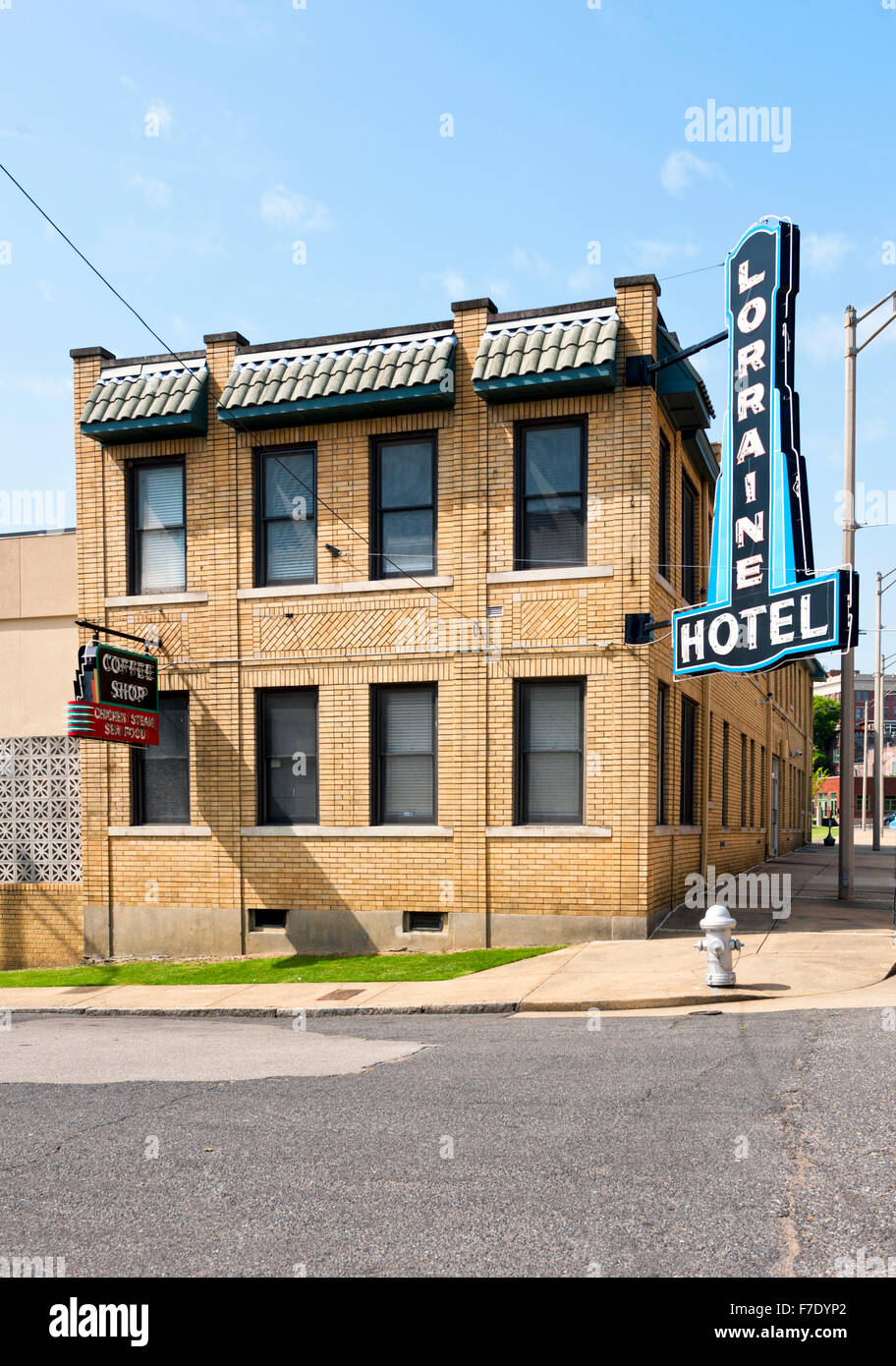 The Lorraine Hotel In Memphis Tennessee Where Martin Luther King