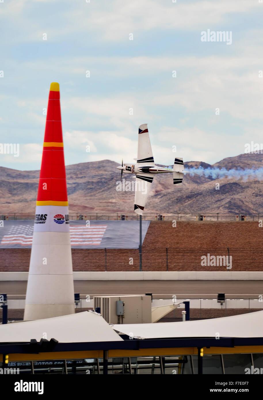 Red Bull Air Races in Las Vegas, Nevada - Stock Image