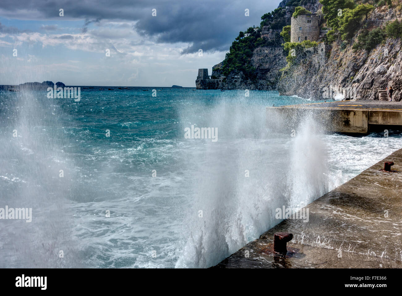 Positano, Amalfi Coast, Italy - Stock Image