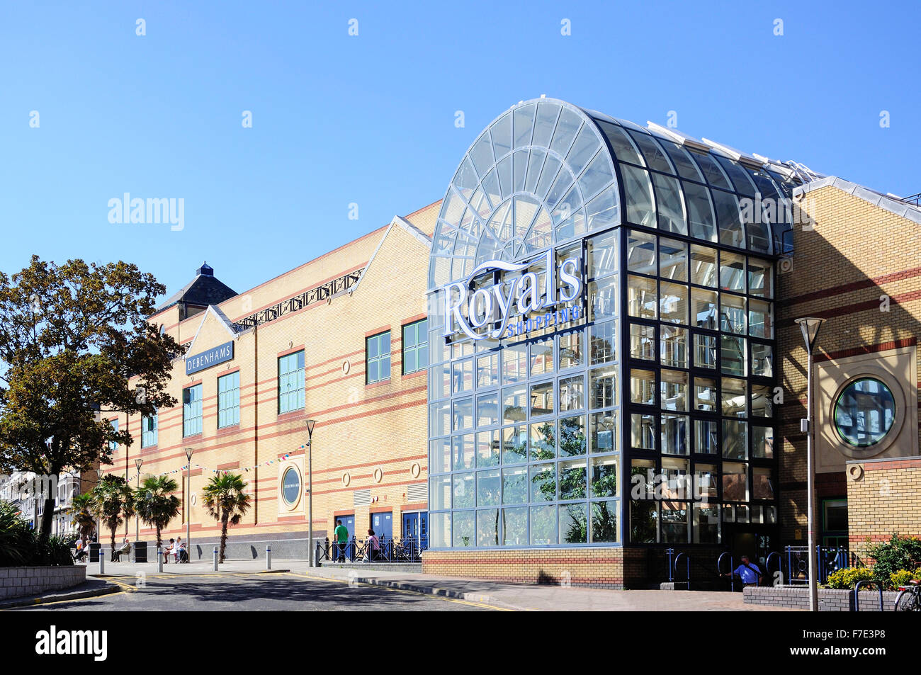 Royals Shopping Centre, Church Road, Southend-on-Sea, Essex, England, United Kingdom - Stock Image
