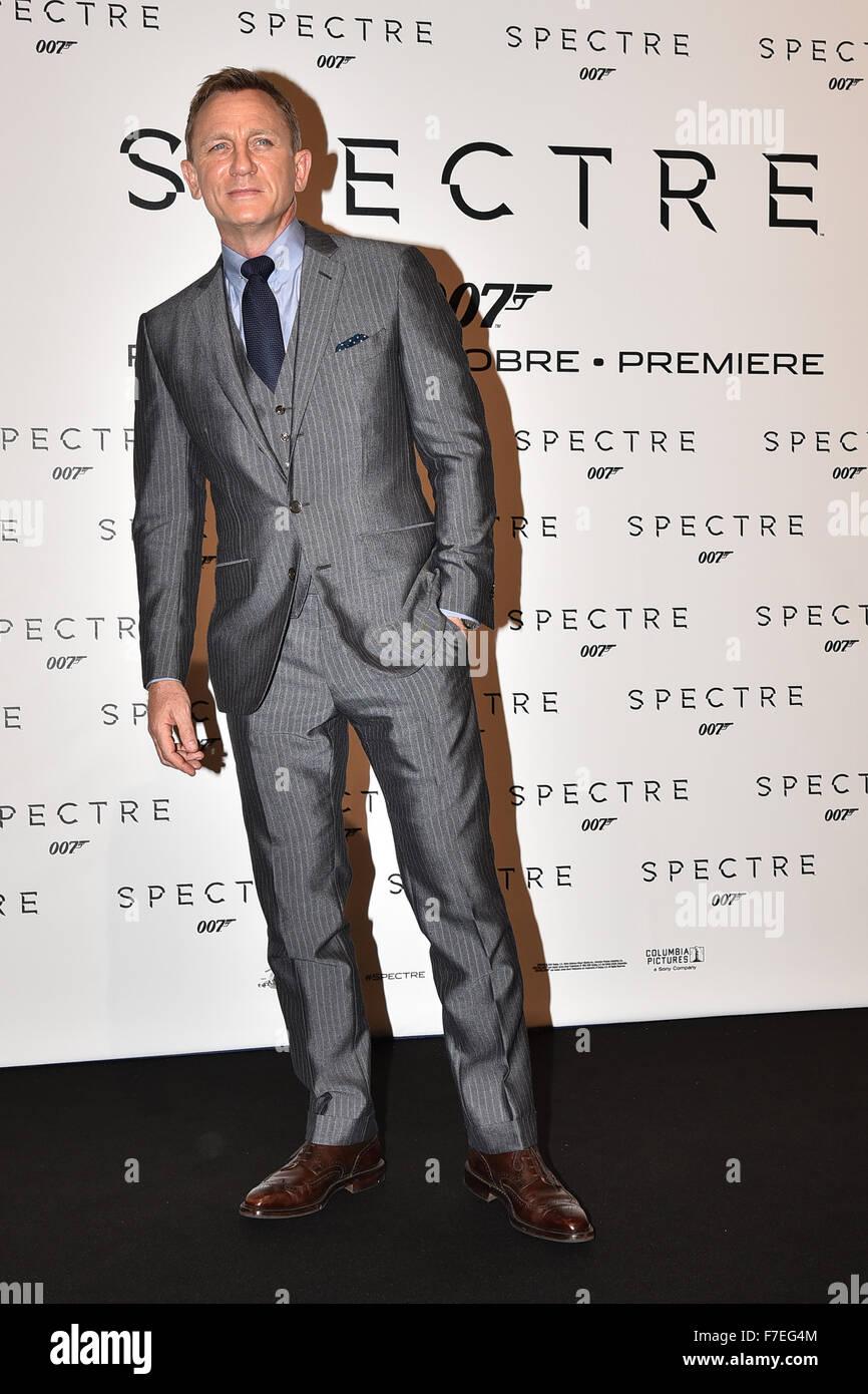 3f13f62bcabd James Bond 'Spectre' Rome premiere - Arrivals Featuring: Daniel Craig  Where: Rome, Italy When: 27 Oct 2015