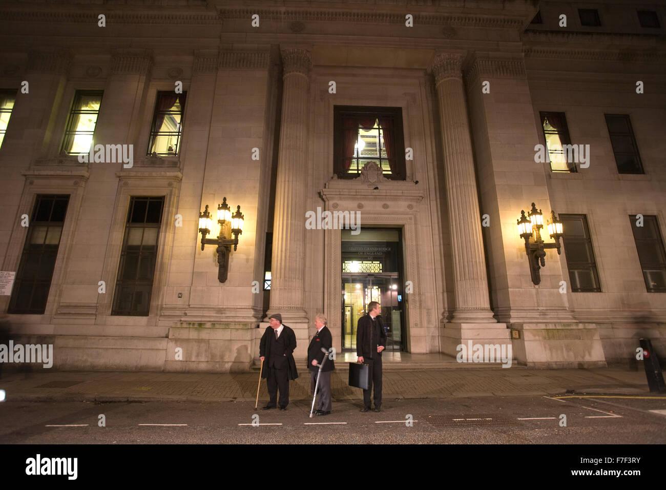Freemason's Hall, United Grand Lodge, Masonic Lodge in London, England, United Kingdom - Stock Image