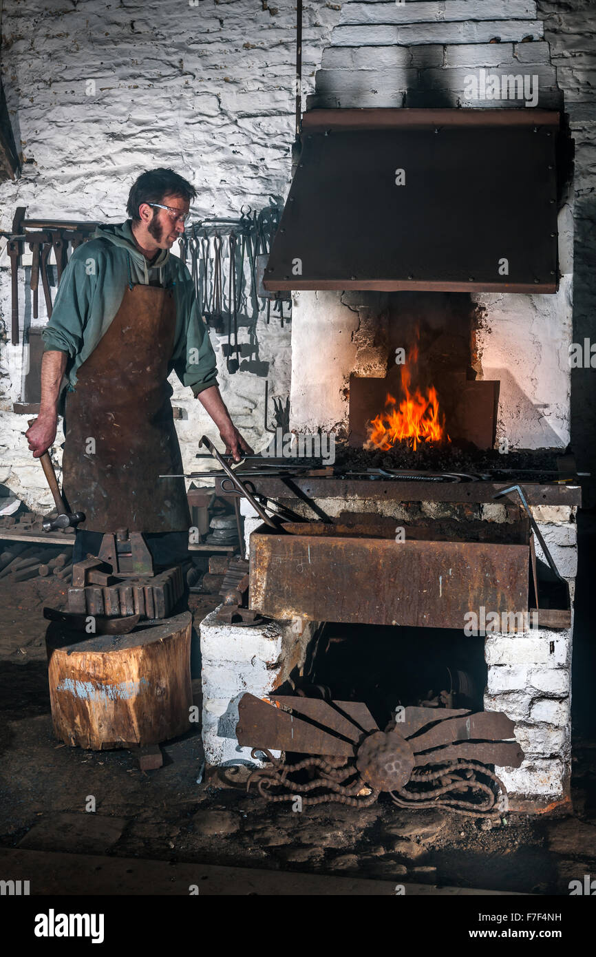 The Foundry Forge Stock Photo