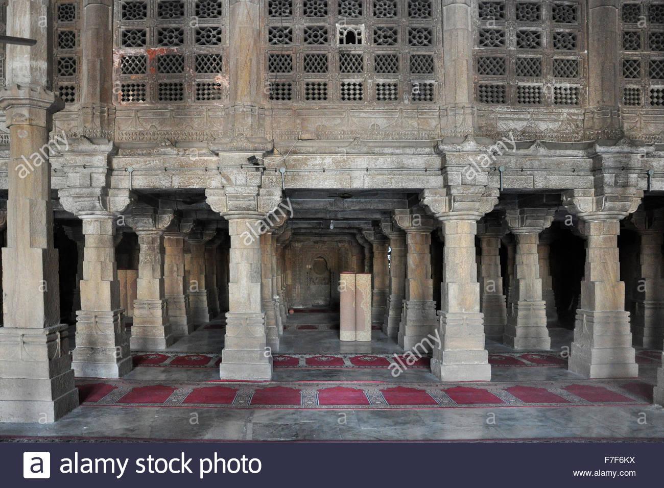 Gujarat,Ahmedabad,Swaminarayan Akshardham Temple Stock Photo
