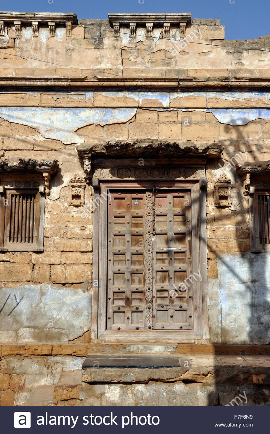Gujarat,Rann of Kutch,door - Stock Image