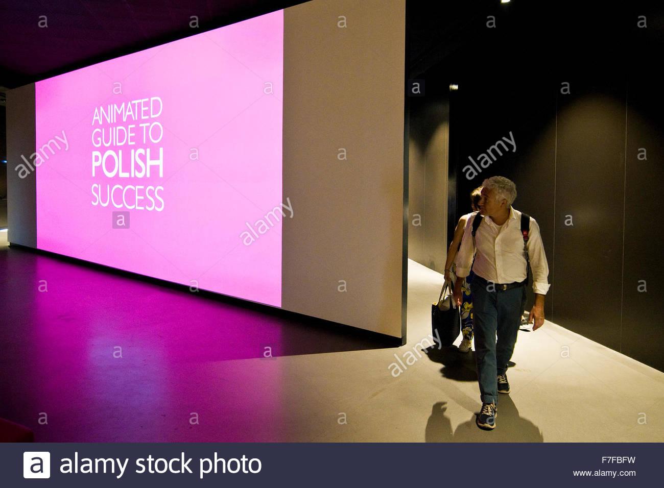 poland pavilion,expo milano 2015 - Stock Image
