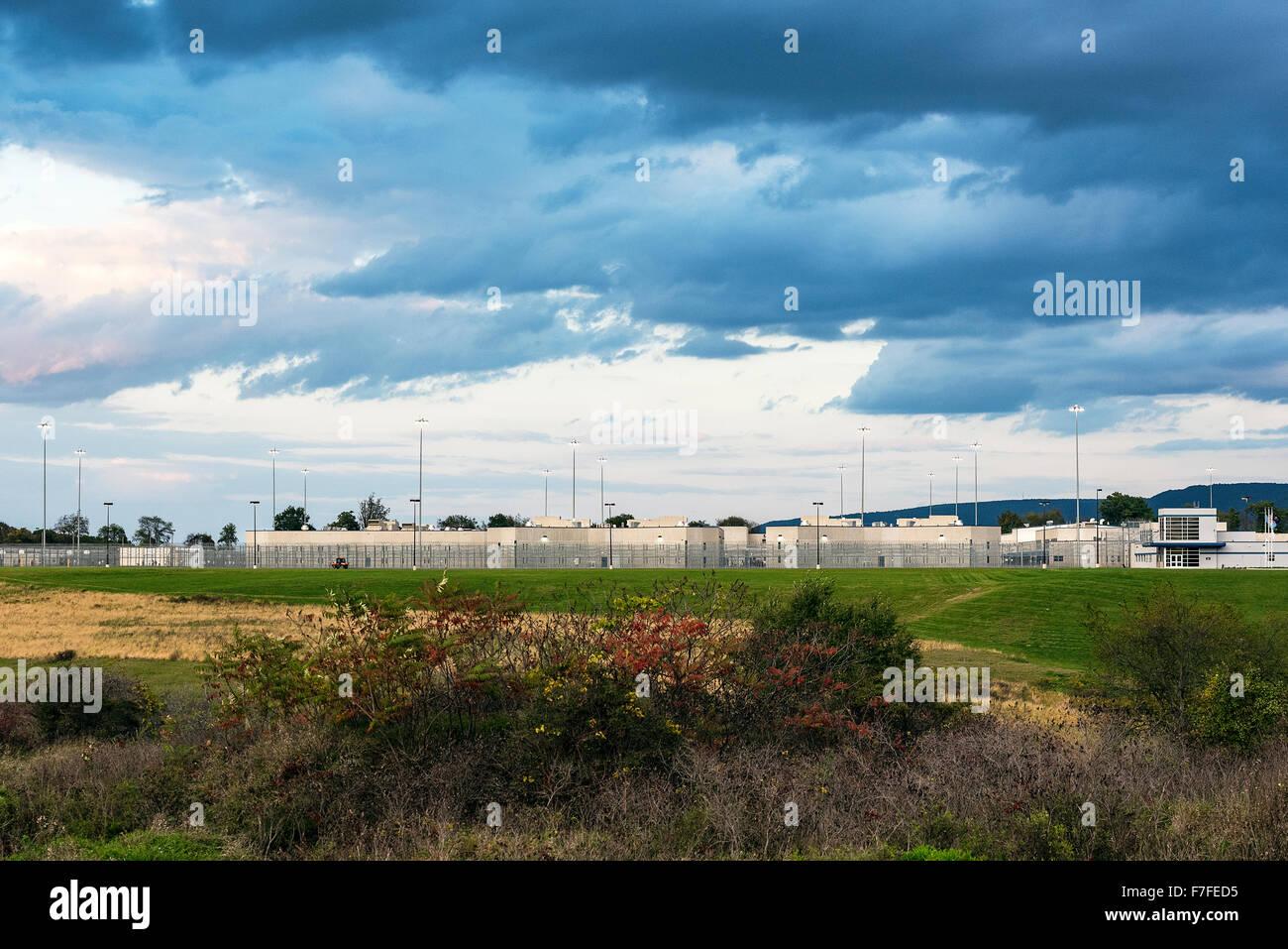 Rockview Prison, Benner Township, Pennsylvania, USA - Stock Image