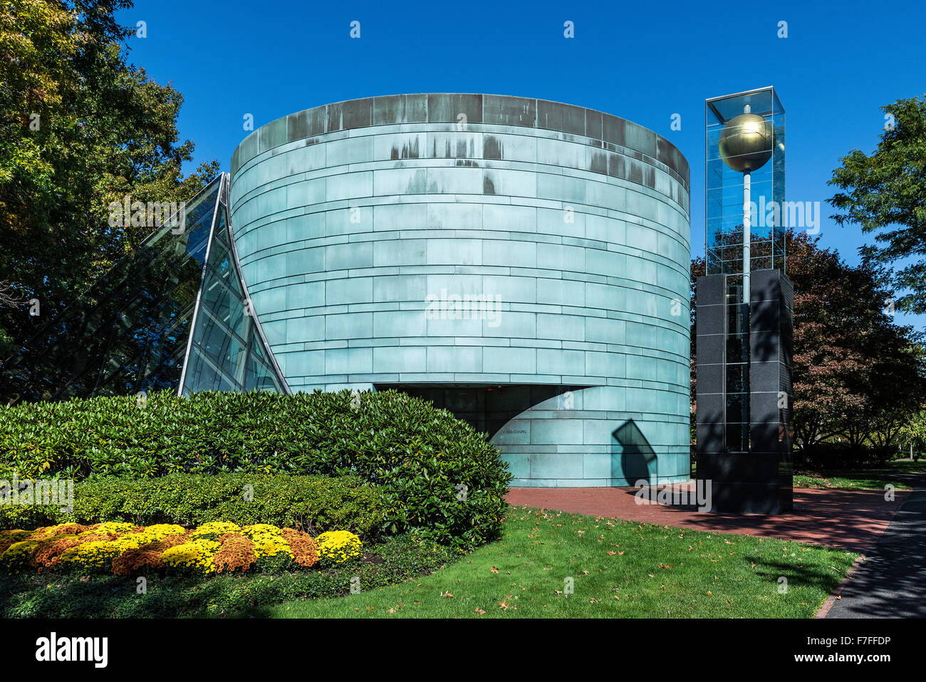 The MBA Class of 1959 Chapel, Harvard University, Massachusetts, USA - Stock Image