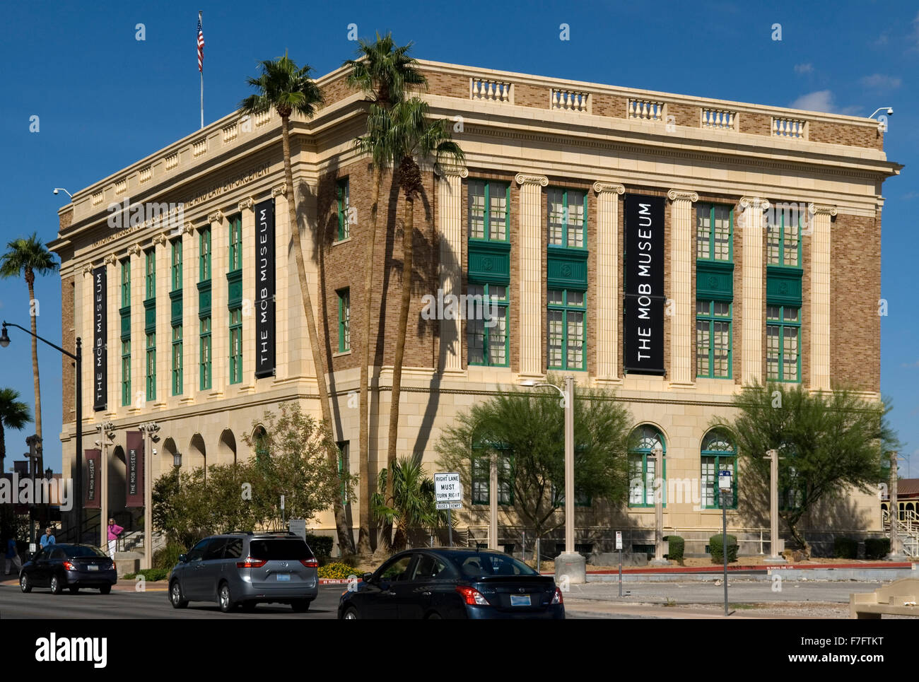 the mob museum las vegas stock photos the mob museum las vegas stock images alamy. Black Bedroom Furniture Sets. Home Design Ideas