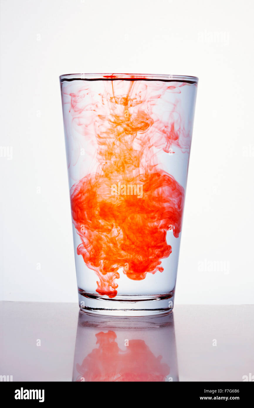 water spreading Stock Photo