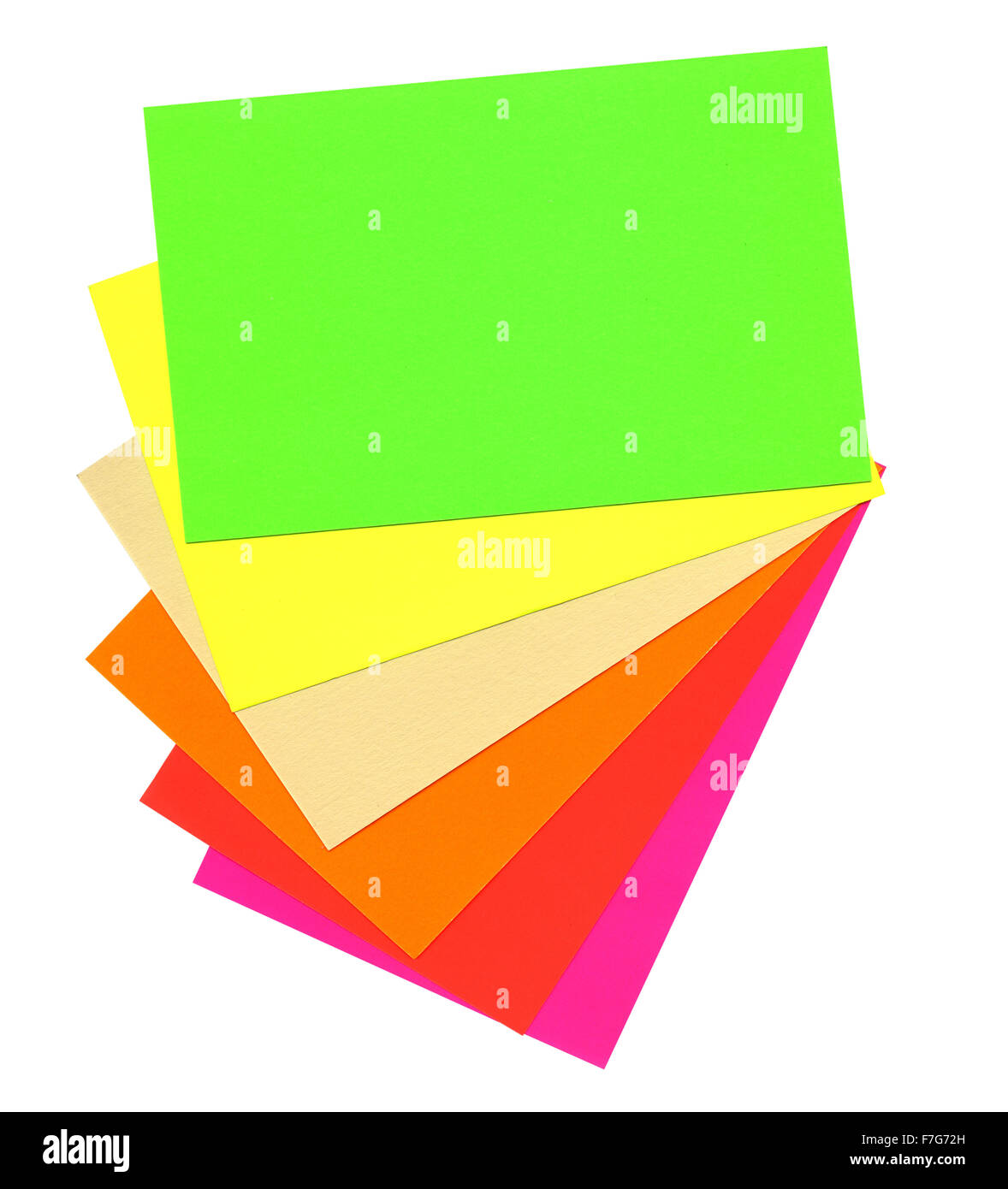 Paper Color Chart Background Different Stock Photos Paper Color