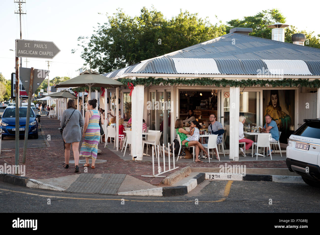 The Pankhurst neighbourhood of Johannesburg, South Africa. - Stock Image