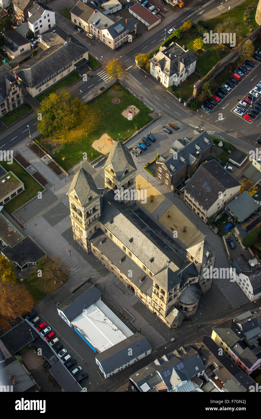 Assumption, Church of Our Lady - St Mary's, Cathedral Andernach, Andernach, Mayen-Koblenz, Rhineland, Rhineland - Stock Image