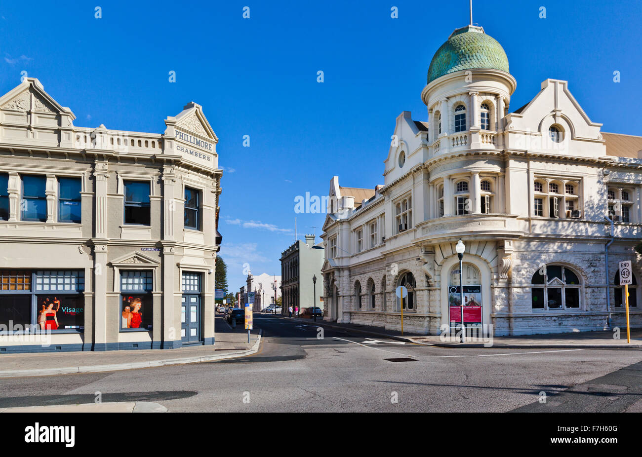 Australia, Western Australia, Fremantle, heritage buildings in the West End Conservation area - Stock Image