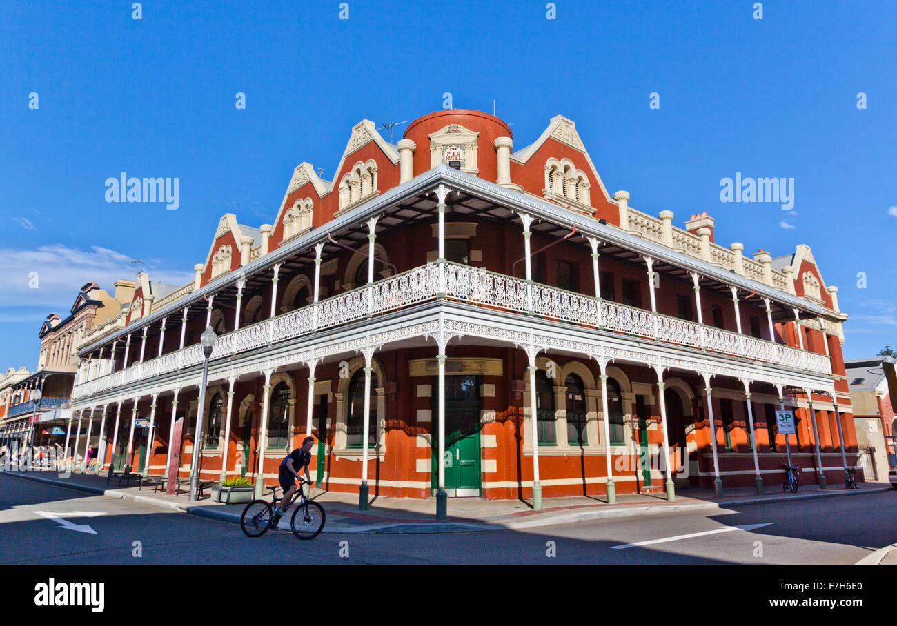Australia, Western Australia, Fremantle, heritage buildings on High Street - Stock Image