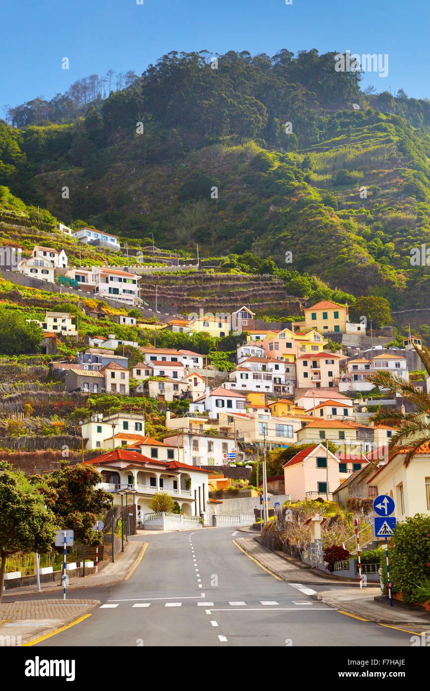 Porto Moniz, Madeira Island, Portugal - Stock Image