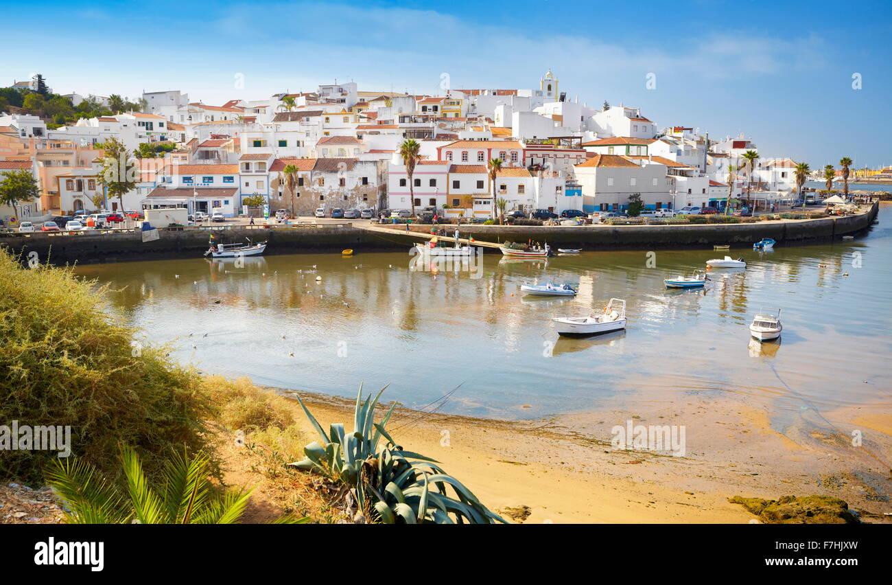 Ferragudo, Algarve, Portugal - Stock Image