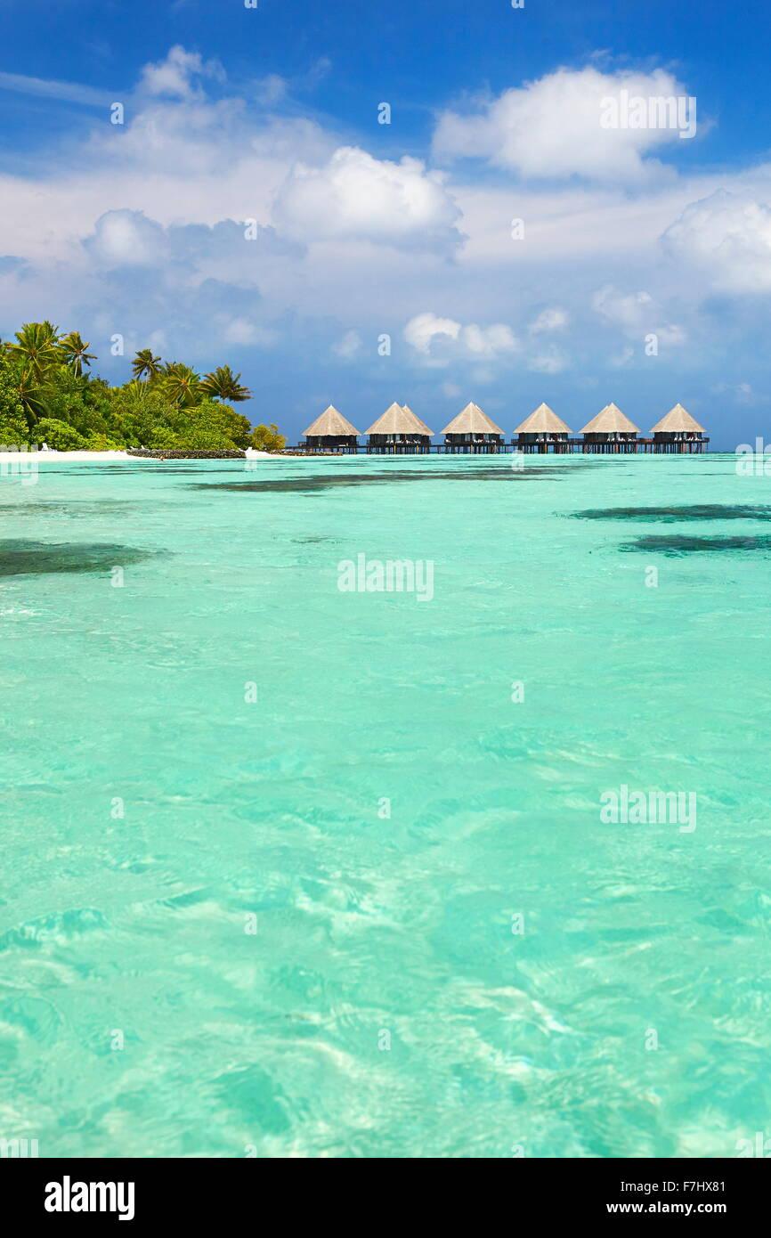 Maldives Island, Ari Atoll - Stock Image