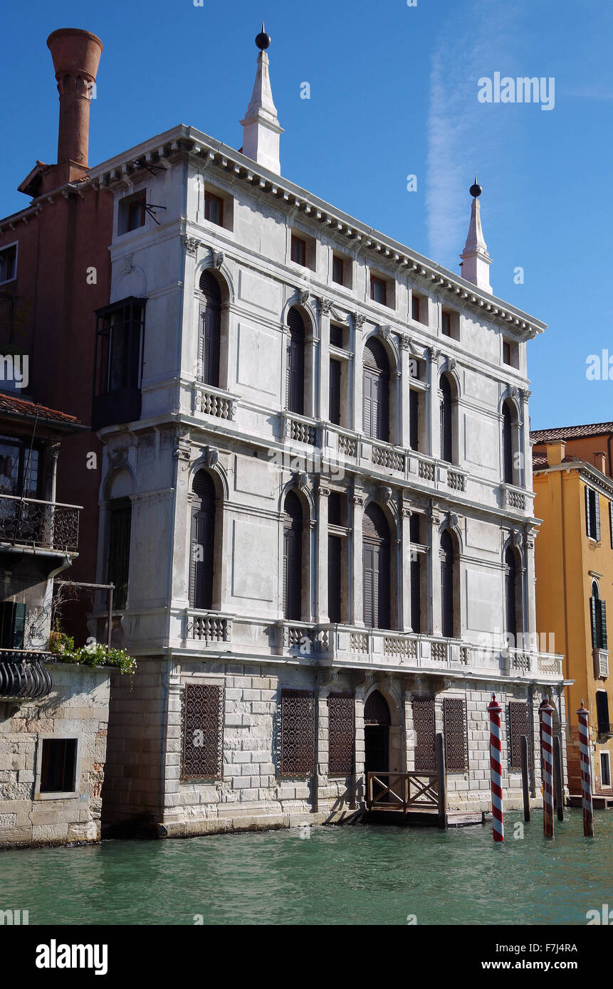 Venice, Italy, Pal. Giustinian-Lolin, Grand Canal. - Stock Image
