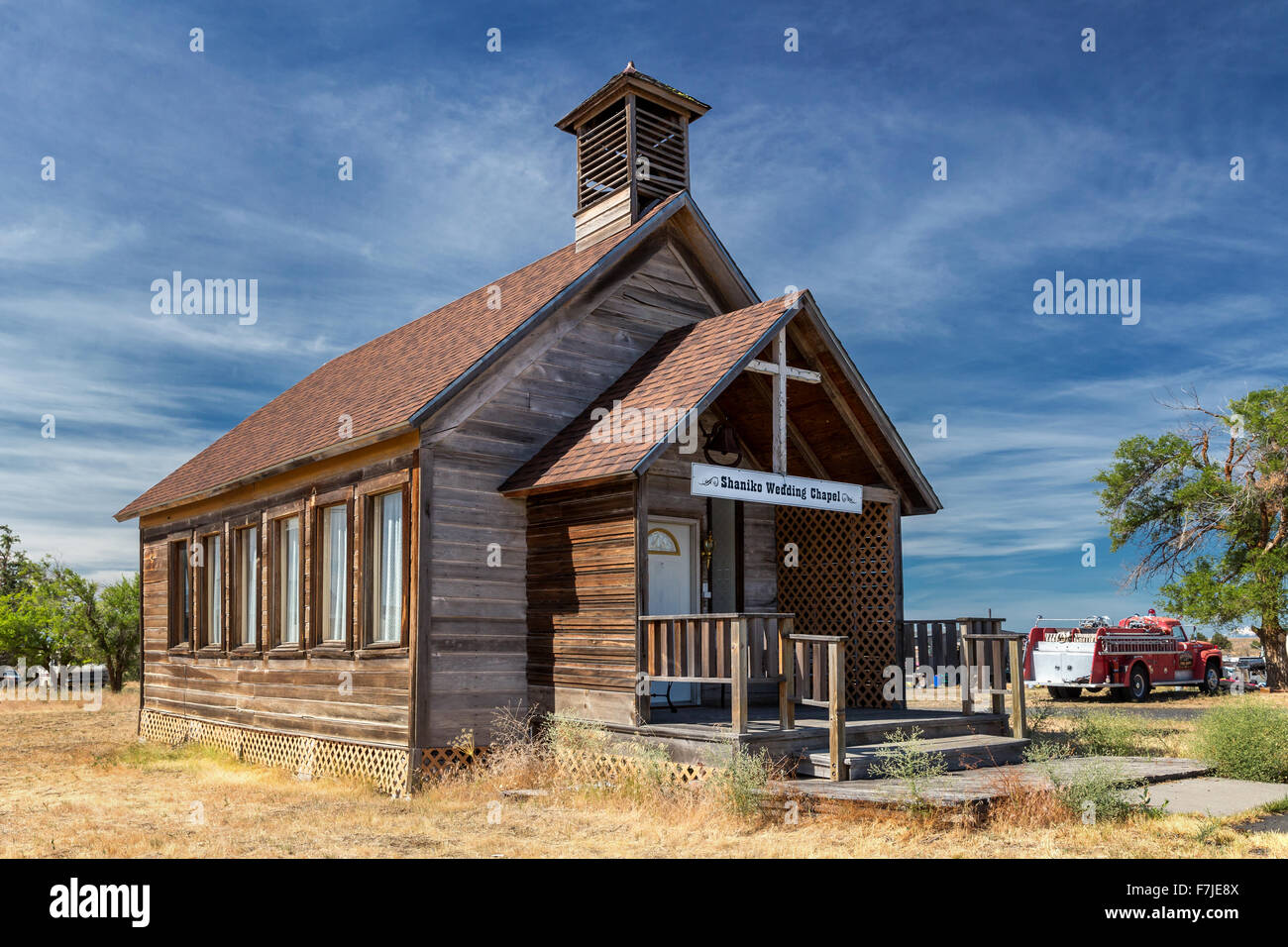 Shaniko Wedding Chapel Shaniko Wasco County Oregon