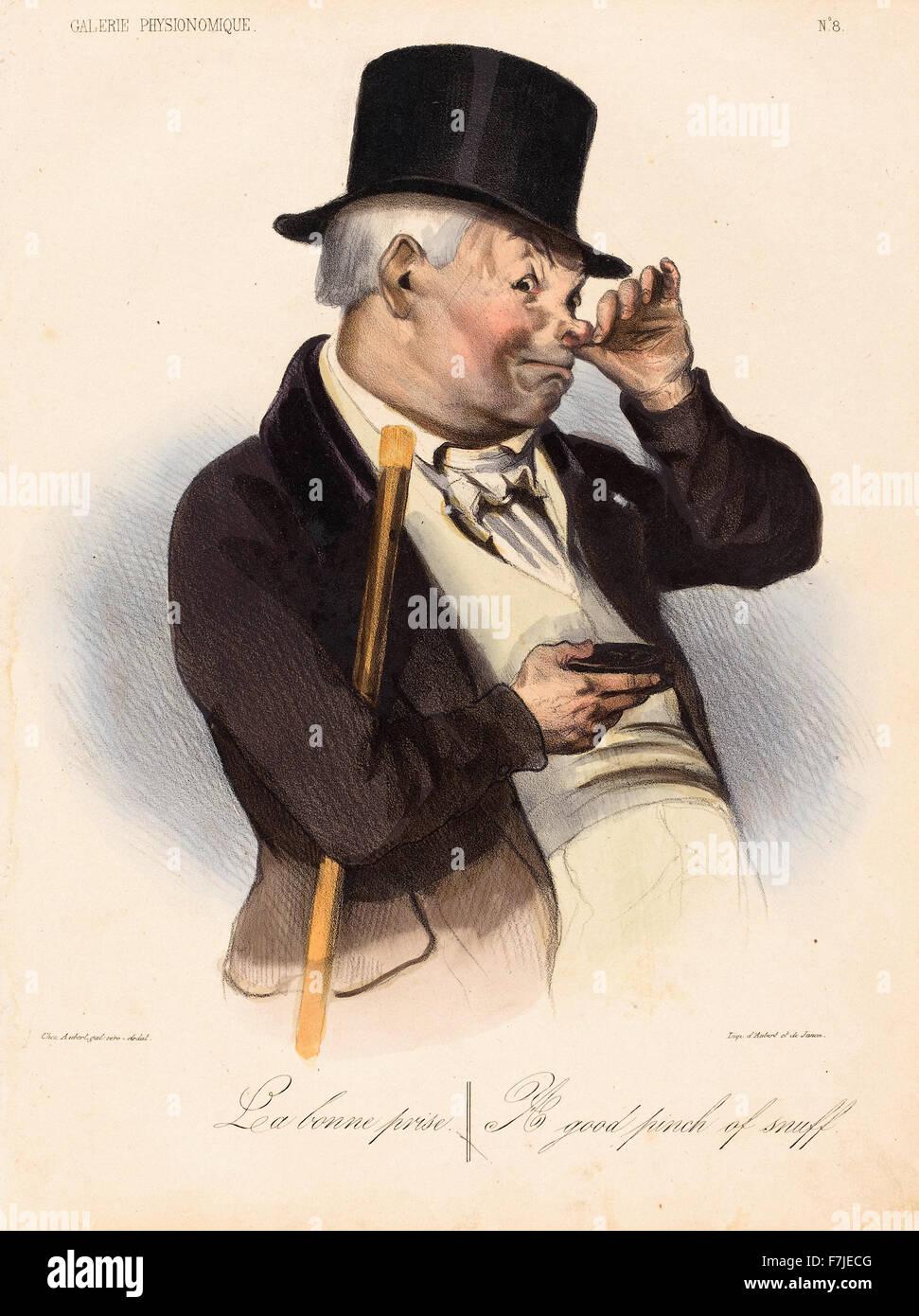 Honoré-Victorin Daumier - La Bonne Prise - Stock Image