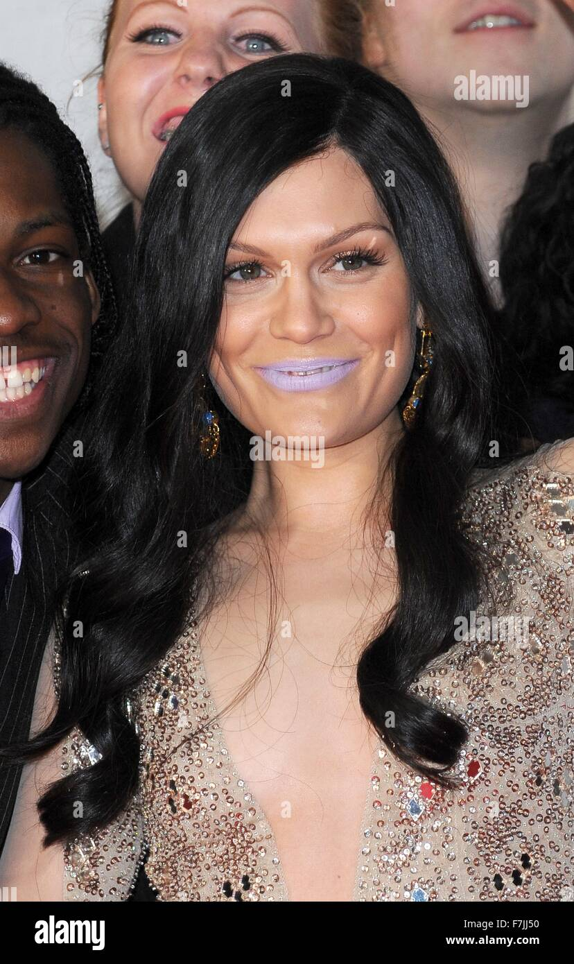 Jessie J At The Brit Awards With Mastercard  Red Carpet Arrivals At The  Arena London Th February