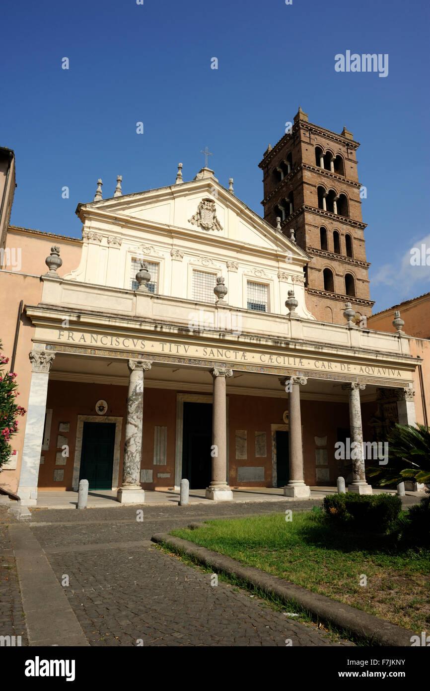 Santa Cecilia In Trastevere Stock Photos & Santa Cecilia In ...