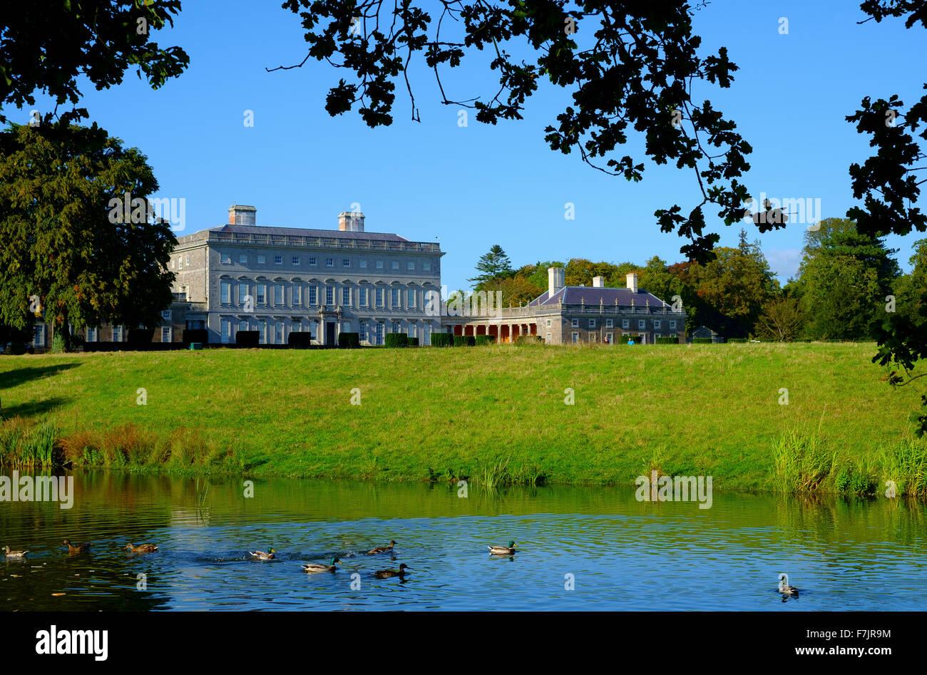 castletown house kildare ireland - Stock Image