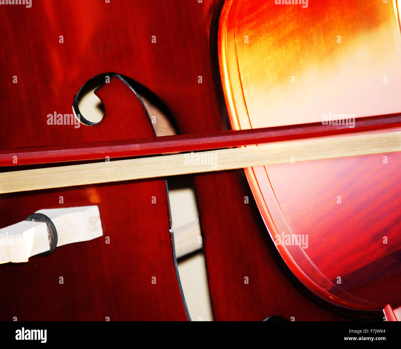 Stand Up Bass Stock Photo
