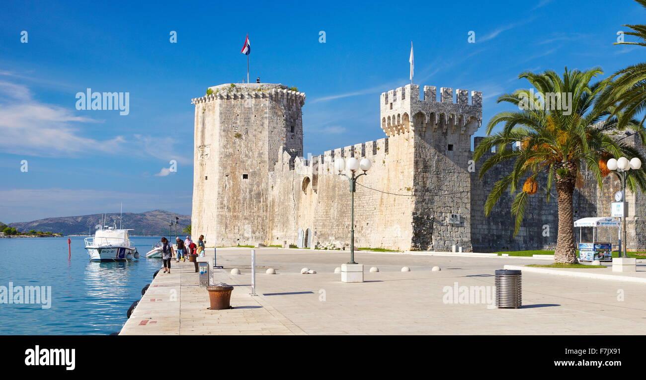 Trogir, Old Town, Croatia - Stock Image